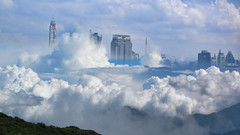 city of the clouds (xtremepeaks) Tags: clouds bangkok mntns ps bhutan monsoon cloud city mountain