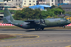 55-030 (GuanCheng Wu) Tags: lockheed c130h30 hercules l382 rckh khh south korea air force 55030 takeoff airplane airport c130 c130h