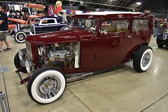 2018 Grand National Roadster Show (USautos98) Tags: 1932 ford sedan traditionalhotrod streetrod custom grandnationalroadstershow gnrs pomona california