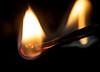 Flame (LSydney) Tags: flame macromondays macro match