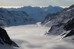 Grosser Aletschgletscher ( Gletscher glacier ghiacciaio 氷河 gletsjer ) in den Walliser Alpen - Alps unterhalb dem Jungfraujoch im Kanton Wallis - Valais der Schweiz (chrchr_75) Tags: hurni christoph januar 2018 schweiz suisse switzerland svizzera suissa swiss chrchr chrchr75 chrigu chriguhurni chirguhurnibluemailch gletscher glacier ghiacciaio 氷河 gletsjer kantonwallis kantonvalais wallis valais albumgletscherimkantonwallis alpen alps