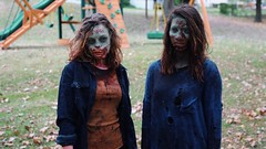 Zombie Gals (schillin128) Tags: scary deadnightmare apocalyptic apocalypse zombieapocalypse zombiemakeup zombies zombie