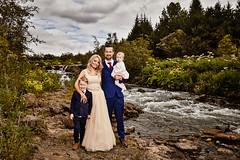 Bára & Ómar (LalliSig) Tags: weddding photographer iceland reykjavík brúðkaup brúðkaupsljósmyndari people portrait portraiture river elliðárdalur