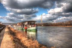 Atalanta (PabloClavo) Tags: river wisła vistula bridge mostświętokrzyski warsaw hdr photomatix