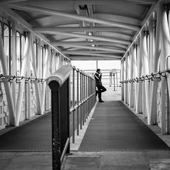 Waiting for the boat (YZ [Street]) Tags: noirblanc streetphoto street streetphotography blackwhite exterior urban noiretblanc sw cities bw bnw blackandwhite city downtown