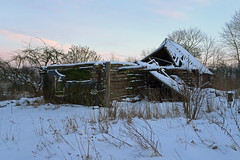 Ghost House (Jolita Kievišienė) Tags: house home abandoned old ghost rustic rural village lietuva lithuania forgotten past shack