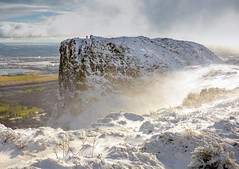 Two Seasons, One Day (Stephen_Lavery) Tags: cavehill belfast winter seasons