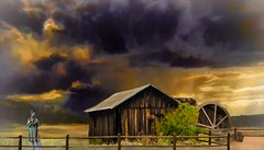 Dark Clouds (Rusty Russ) Tags: dark sky cloud storm ranch soldier toned down colorful day digital window flickr country bright happy colour eos scenic america world sunset beach water red nature blue white tree green art light sun park landscape summer city yellow people old new photoshop google bing yahoo stumbleupon getty national geographic creative composite manipulation hue pinterest blog twitter comons wiki pixel artistic topaz filter on1 sunshine image reddit