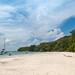 Beach on Curieuse island, Seychelles