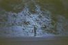 selfie (film) (Art by 2wenty) Tags: 2wenty olympus om2n om zuiko film analog mood moody night midnight snow ice nature road grain