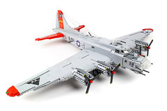 B-17G Flying Fortress (PlaneBricks) Tags: lego b17 fortress