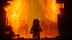 """He's doing this for a reason..."" (Alan Rappa) Tags: tweetme afol crait fire flames lego lukeskywalker minifigs minifigures moc starwars thelastjedi toys"