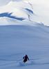 Skiing off the Col Est de Barasson (David Roberts 01341) Tags: skiing skitouring skiderandonnee freeride switzerland suisse grandsaintbernard winter snow alps mountains offpiste horspiste