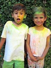03-04-18 Holi Festival 04 (Leo & Luna) (derek.kolb) Tags: mexico yucatan merida family