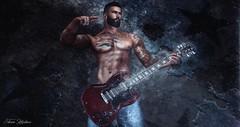 Smokin' Solo (STATIC Photography Studio) Tags: smokin smoking guitar solo shredding rock music