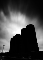 Stark (PeskyMesky) Tags: aberdeen pocraquay industrial minimal monochrome blackandwhite scotland flickr 2018 canon canon6d silhouette leefilter ndgrad littlestopper