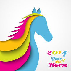 Year of the horse. Christmas (siancom) Tags: 2014 abstract animal art background calendar card cartoon celebrate celebration chinese christmas colorful concept creative decoration design element festive gift greeting handmade happy holiday horoscope horse illustration invitation isolated merry minimalistic modern new oriental origami paper shape sign silhouette symbol template texture vector wallpaper web white winding xmas year zzzaaoaaaneigphchdgfcahagbhagfhccadf