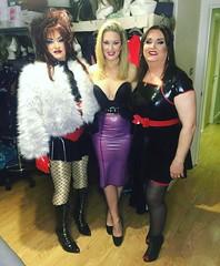 Night of TG (Sissy kaylah) Tags: tgirl tg trans transvestite tranny crossdresser crossdressing rubber faxfur bighair