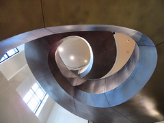 Central Staircase, Wellcome Collection, London, England (duaneschermerhorn) Tags: architecture building structure architect modern contemporary modernarchitecture contemporaryarchitecture