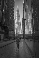 Different view of the Shard (Marketing.Alpha) Tags: shard london thisislondon leica1 leica street photography bw