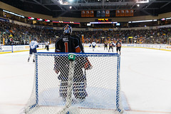 "Kansas City Mavericks vs. Toledo Walleye, January 20, 2018, Silverstein Eye Centers Arena, Independence, Missouri.  Photo: © John Howe / Howe Creative Photography, all rights reserved 2018. • <a style=""font-size:0.8em;"" href=""http://www.flickr.com/photos/134016632@N02/39839480621/"" target=""_blank"">View on Flickr</a>"