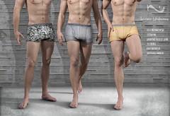 Native Urban - Lennon Underwears (NativeUrban) Tags: belleza signature slink originalmesh nativeurban secondlife men man street boxers underwear fittedmesh district20 mesh newrelease