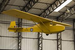Slingsby T.7 Cadet TX1 - 2 (NickJ 1972) Tags: yorkshire air museum 2014 aviation slingsby t7 cadet tx1 ra854 glider