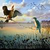Wetland (jaci XIII) Tags: lago pantanal ave pássaro junco capim água lake bird grass water