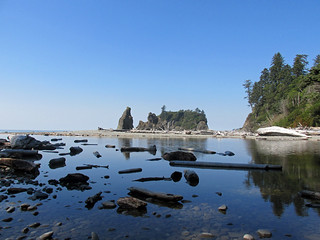 Ruby Beach at Olympic NP in WA
