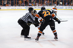 """Kansas City Mavericks vs. Ft. Wayne Komets, March 2, 2018, Silverstein Eye Centers Arena, Independence, Missouri.  Photo: © John Howe / Howe Creative Photography, all rights reserved 2018 • <a style=""""font-size:0.8em;"""" href=""""http://www.flickr.com/photos/134016632@N02/39930354904/"""" target=""""_blank"""">View on Flickr</a>"""