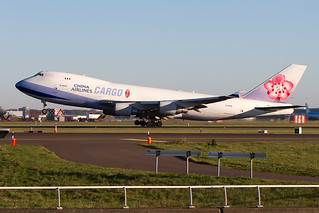 B-18722, Boeing 747-409F, China Airlines Cargo