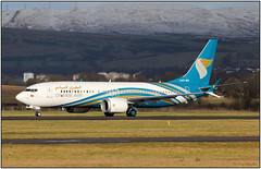 IMG_7146FL7 (Gerry McL) Tags: oman air boeing 737 max8 max 8 a40ma ferry delivery glasgow scotland gla egpf airliner muscat seattle
