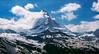 The Matterhorn: Zermatt Switzerland: May 1990 (mharoldsewell) Tags: 1990 2018 georgia matterhorn may swissalps switzerland zermatt mharoldsewell mikesewell photos scanned slides