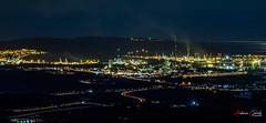 Bahia de Algeciras. (Antonio Camelo) Tags: nikon night noche lights luces algeciras andalucia landscapes paisaje long exposure sky bay bahia