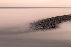 promontory (Marc McDermott) Tags: sjore lakeontario water sky longexposure nd30 neutraldensity horizon stones