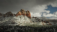 Sedona Red Rocks (SteveMatten) Tags: ifttt 500px sky mountains travel clouds nikon snow arizona outdoors scenic sedona