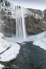 Seljalandsfoss (rjonsen) Tags: iceland waterfall winter ice motion blur long exposure water river snow