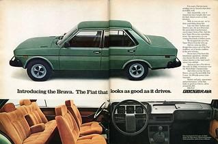 1978 Fiat Brava Advertisement Playboy July 1978