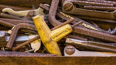 Unwanted Tools (bart7jw) Tags: rust tools allen keys tap taps rusty canon t5i 700d 50mm nifty fifty