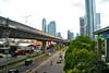 Jalan Satrio hadap selatan ke timur (Everyone Sinks Starco (using album)) Tags: jakarta city kota road jalan jalanlayang flyover skyline cakrawala