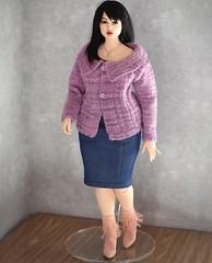 3D printed Lidia, 41cm tall. . #legranddoll #3dprinteddoll #artistdoll #styleandcurve #beautybeyondsize https://legranddoll.com #celebratemysize @plussizemodels #curvydolls #fashiondoll #balljointeddoll #legranddolllidia (aidalegrand) Tags: legranddoll 3dprinteddoll artistdoll styleandcurve beautybeyondsize celebratemysize curvydolls fashiondoll balljointeddoll legranddolllidia