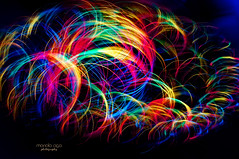 rainbow colors (mariola aga) Tags: night light fiberlight panning fisheye rainbow colors abstract blur art thegalaxy