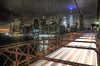Downtown Streaks II (andy.gittos) Tags: new york ny usa manhattan downtown brooklyn bridge streaks light trails skyline city cityscape traffic night hdr