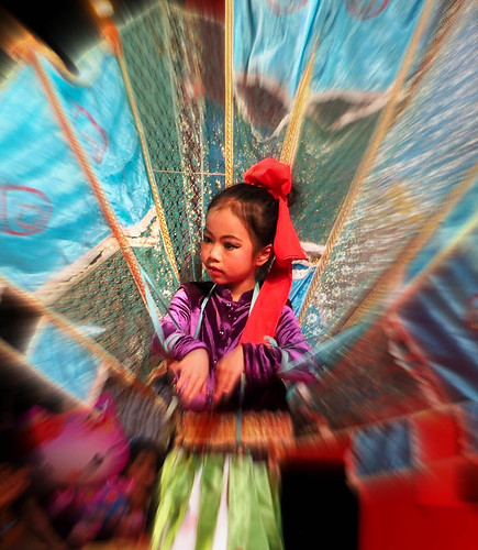 Little dancer Chinese New Year