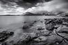 Elgol B&W (Leigh Garner) Tags: 2017 scotland rocks elgol leighgarner blackwhite seascape isleofskye nikond750 uk sea unitedkingdom gb