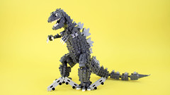 LEGO Godzilla: Support on LEGO Ideas (BRICK 101) Tags: lego godzilla train kaiju monster