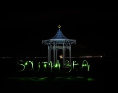 Southsea (Sarah Marston) Tags: southsea lightpainting sony a77 february 2018 bandstand portsmouth