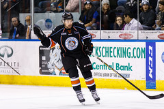 "Kansas City Mavericks vs. Indy Fuel, February 16, 2018, Silverstein Eye Centers Arena, Independence, Missouri.  Photo: © John Howe / Howe Creative Photography, all rights reserved 2018. • <a style=""font-size:0.8em;"" href=""http://www.flickr.com/photos/134016632@N02/40387398251/"" target=""_blank"">View on Flickr</a>"