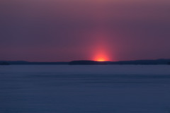 Sunset (Marko Pennanen) Tags: auringonlasku pyhã¤selk㤠rã¤ã¤kkyl㤠sunset talvi vuoniemi winter