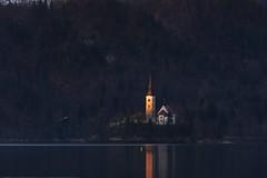 Bled (kmclaudio) Tags: bled pentaxart lago acqua chiesa luce alba isola